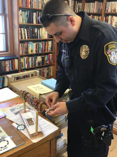 Ofc. Adam Mitchell @ Broad Brook Library