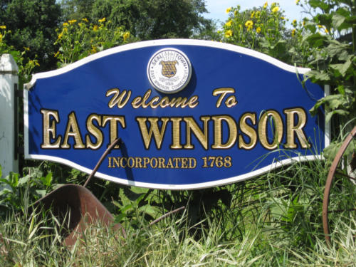 Town of East Windsor Sign
